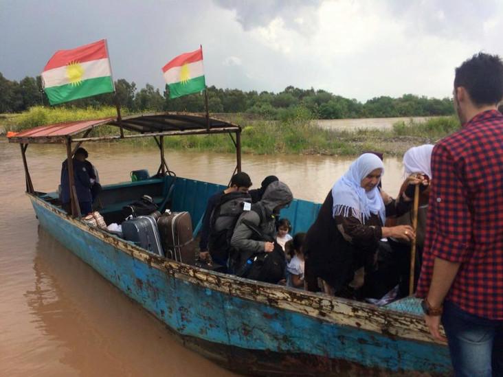 Da Bologna al kurdistan, la nostra delegazione in viaggio nel Rojava