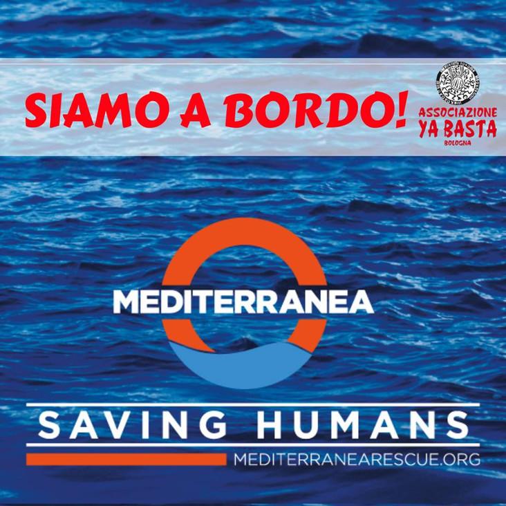 [ITA-ENG] PRESENTAZIONE DELL'OPERAZIONE ITALIANA DI MONITORAGGIO IN MARE - YA BASTA A BORDO DI #