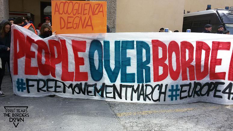 #Brennero | Immagini e video dalla Marcia open borders!