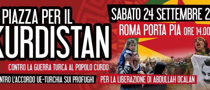 Info pullman da Bologna: In piazza per il Kurdistan sabato 24 settembre 2016