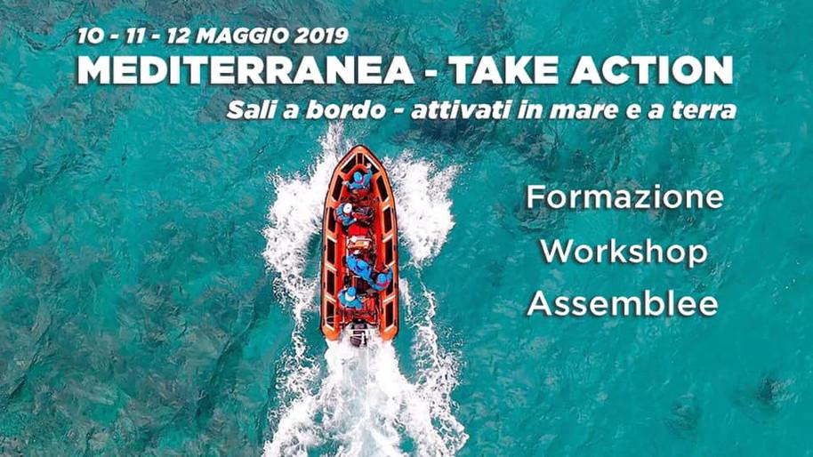 Mediterranea - Take action! Formazione, workshop, assemblee