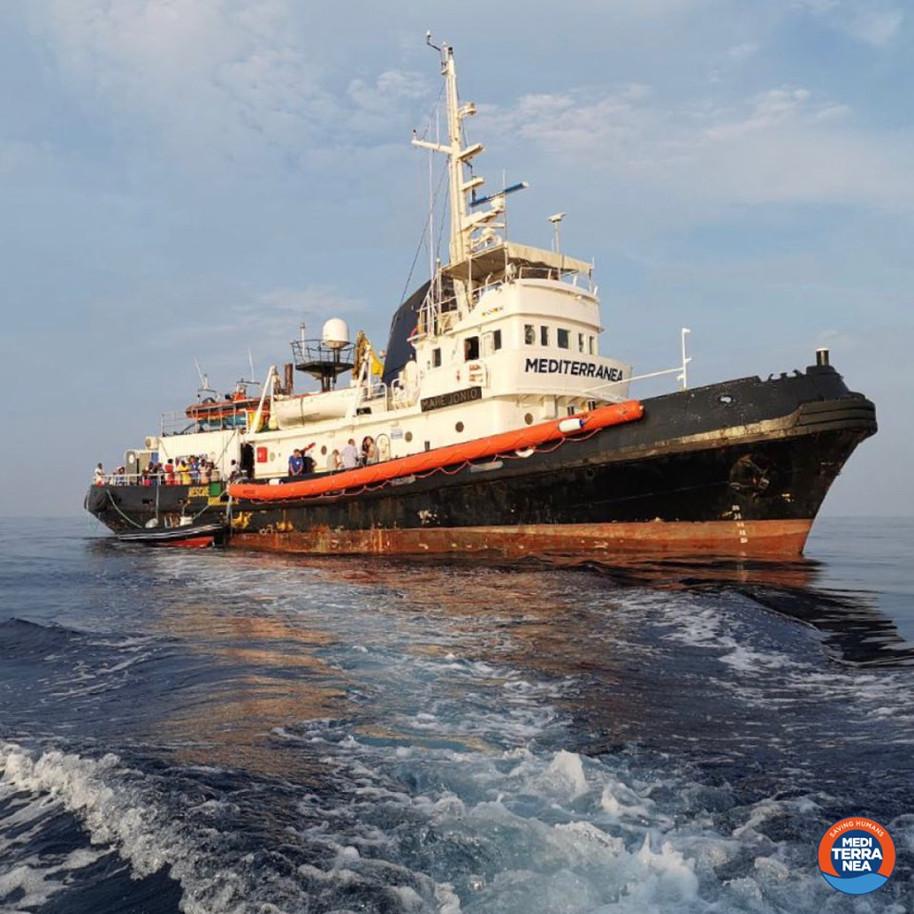 Mare Jonio: sequestro e multa da 300mila euro. Paradossale e disumana applicazione del Decreto Sicur