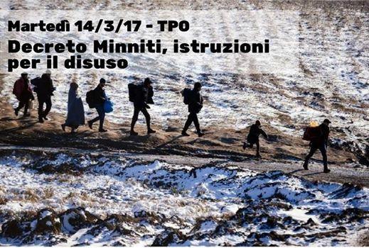Decreto Minniti - istruzioni per il disuso