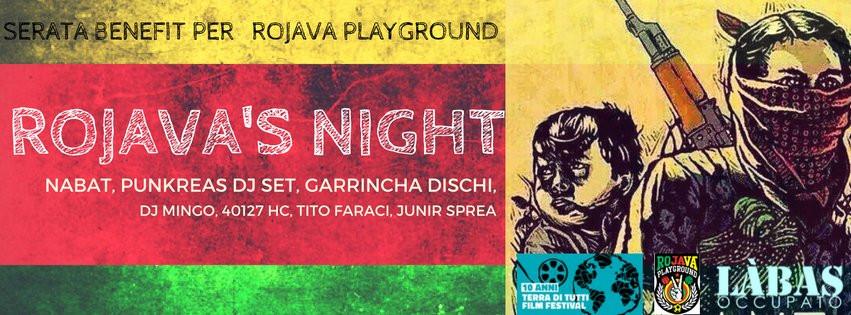 Rojava's Night: Nabat, Punkreas DjSet, Garrincha Dischi & more