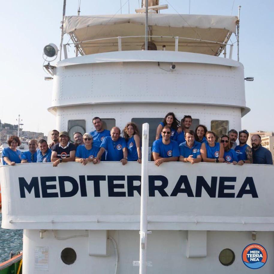 Partita la missione 4/2019. Mare Jonio è di nuovo nel cuore del Mediterraneo!