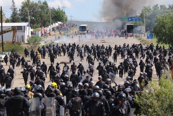 Messico - Appunti sulla guerra contro i maestri in resistenza