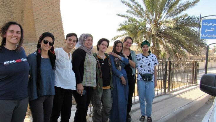 Raqqa e Manbij: dal regime di Daesh alla rivoluzione delle donne (testimonianza delegazione rete jin