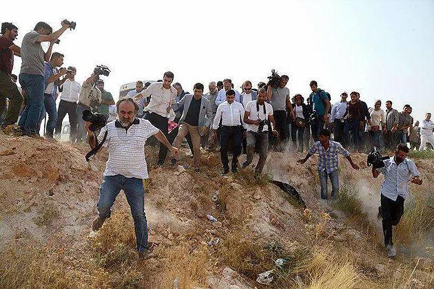 Seconda giornata degli attivisti di Ya Basta! Bologna sul confine turco-siriano, verso la Carovana I