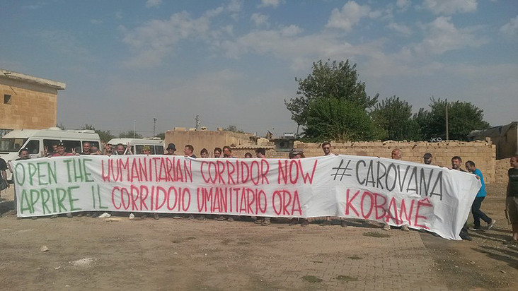Carovana in Kurdistan - settembre 2015