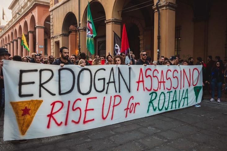 Rise Up 4 Rojava! Mobilitazioni a Bologna