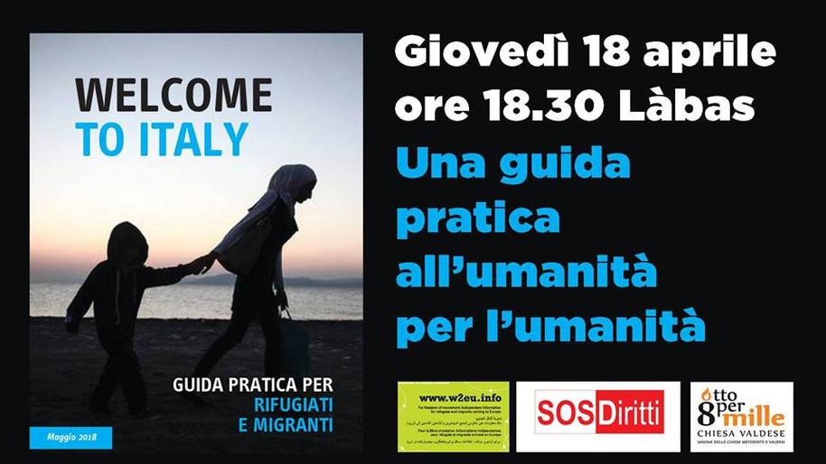 Welcome to Italy: guida pratica all'umanità per l'umanità!