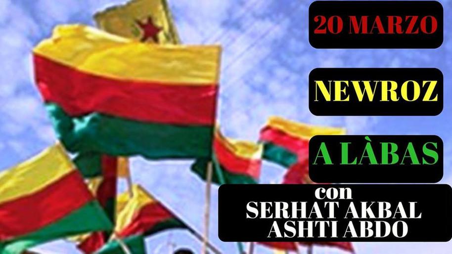 20 marzo - Il Mercoledì di Làbas per il Newroz Fest
