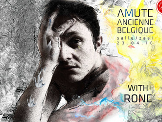 Amute : Live at Ancienne Belgique April 23rd 2016