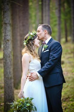 Wald Hochzeit