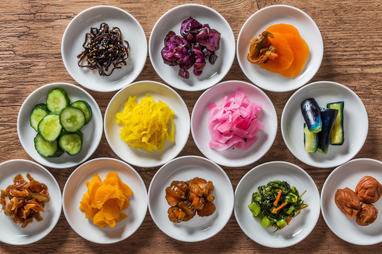Tsukemono - légumes salés / marinés