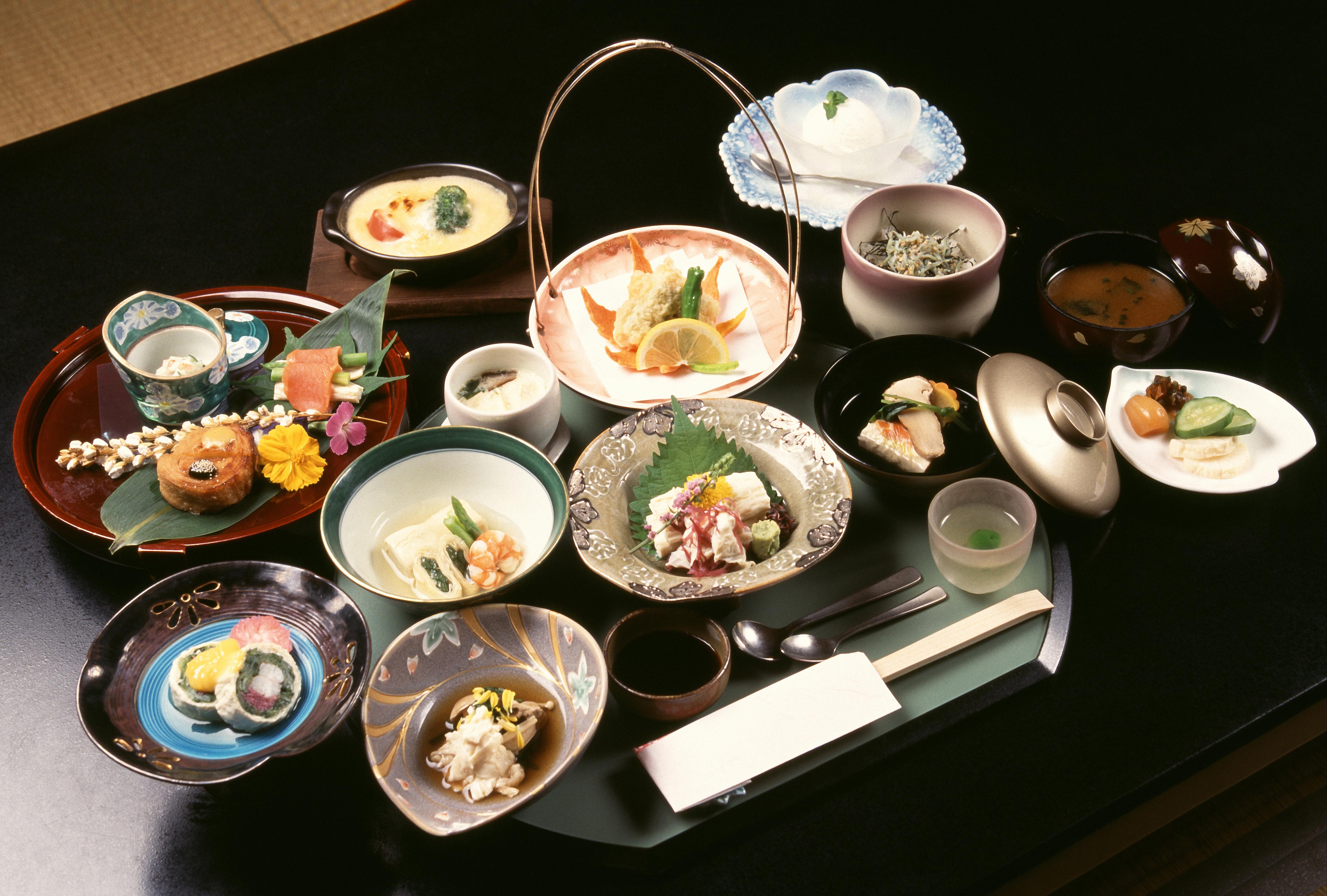 Cuisine Kaiseki - gastronomie de Kyoto