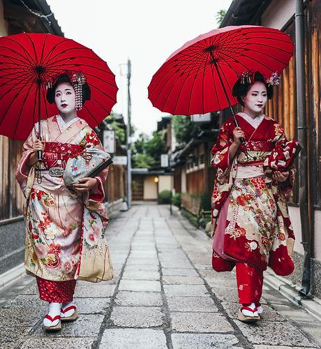 Maiko à Gion