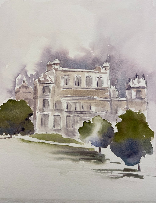 Wollaton Hall sketches