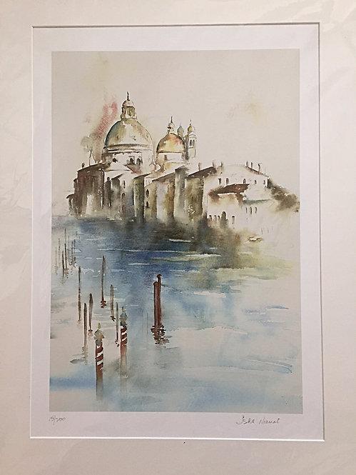 Venice from Accademia Bridge