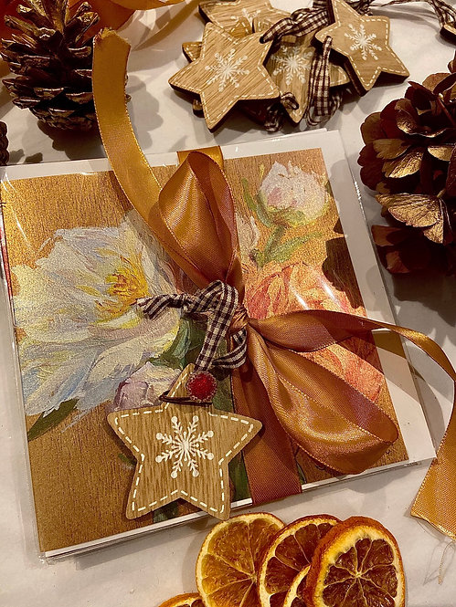 Christmas package, 10 cards