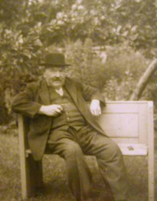 W.J. Horsman in retirement.