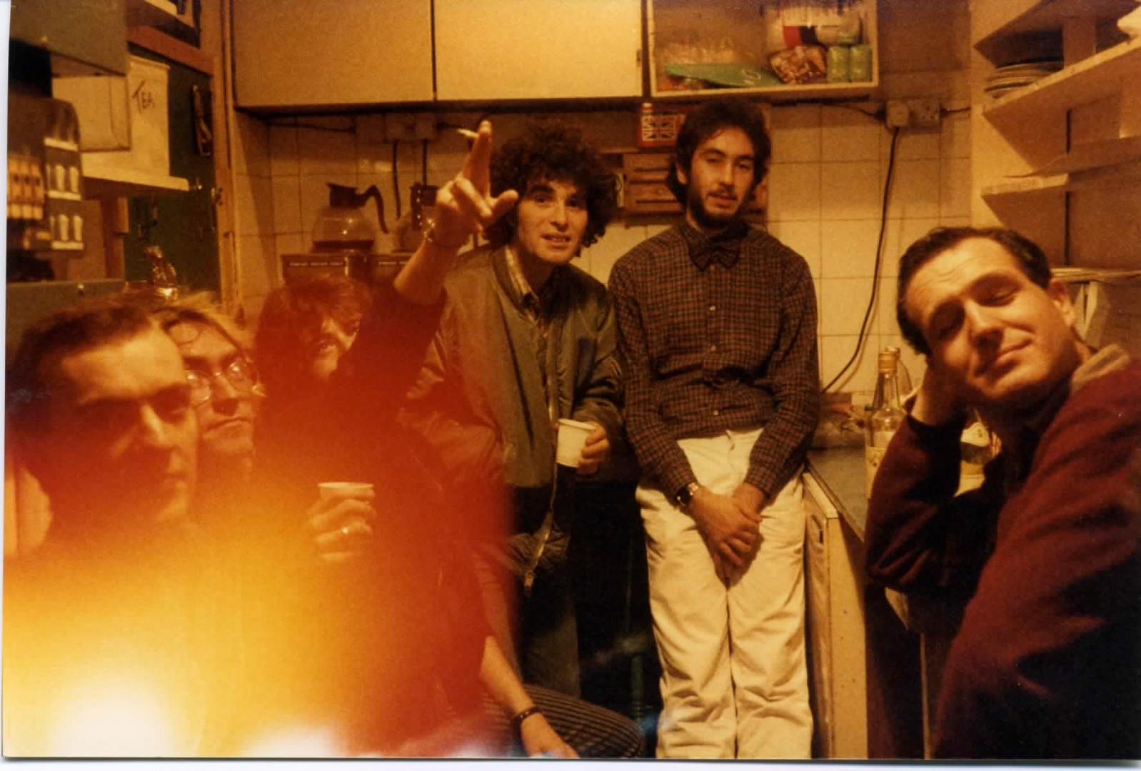 Richard Napper, Terry Abernethy, ?, Stan Siegal, Georges Meisner, Geoff Andrew.