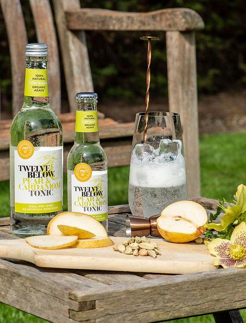 Twelve Below Pear and Cardamom tonic