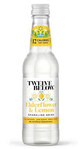 Elderflower & Lemon Sparkling Drink