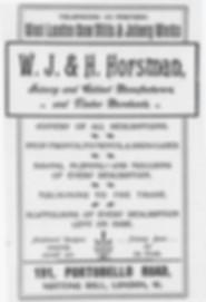 Horsman ad.