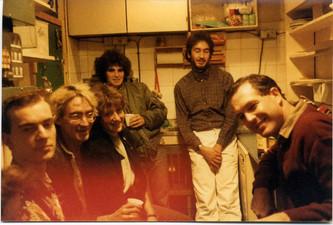 Richard Napper, Terry Abernethy, ?, Stan Siegal, Georges Meisner, Geoff Andrew