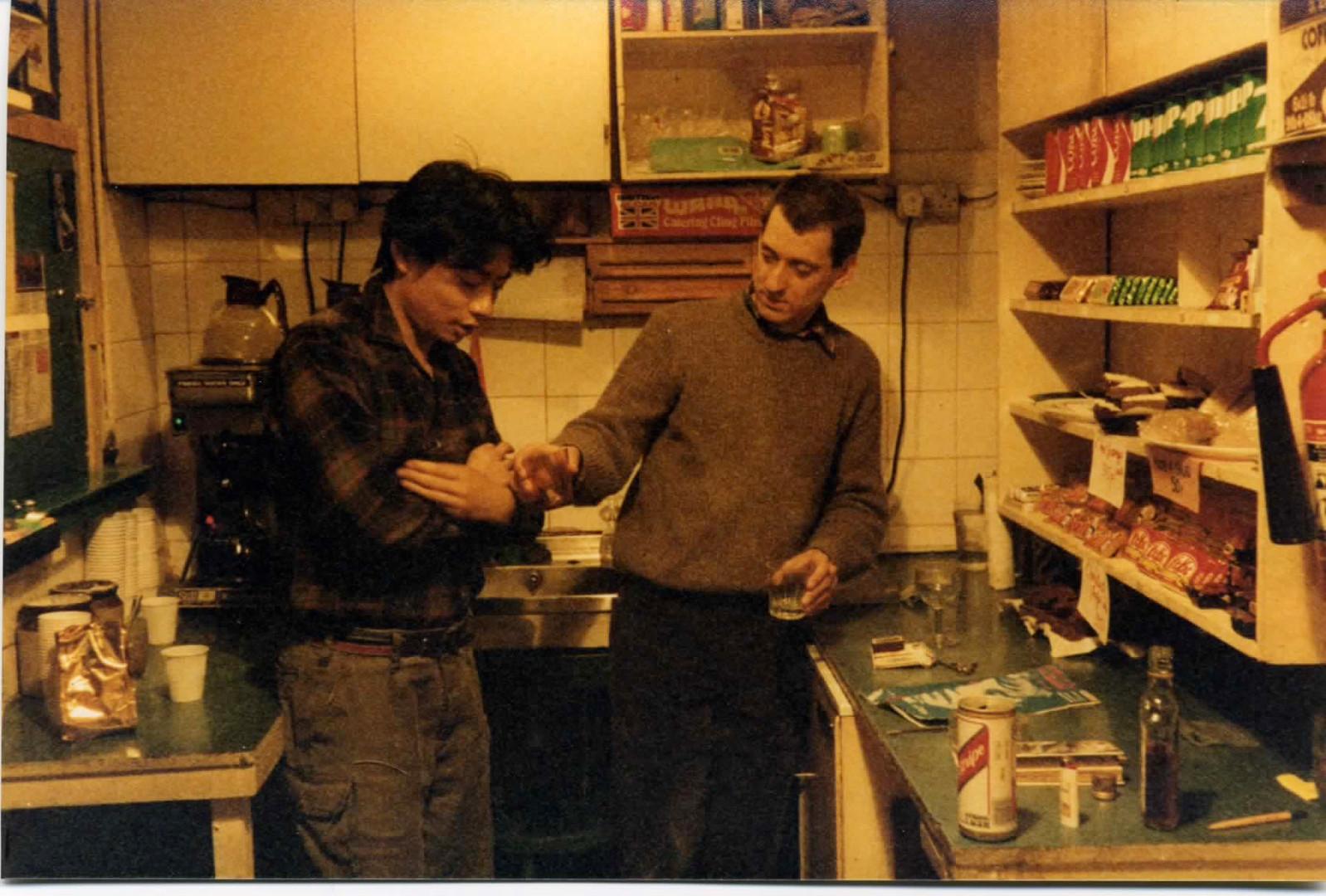 Alvin Leong & Wally Hammond.