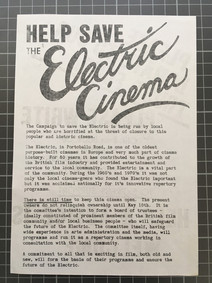 Help save the Electric Campaign