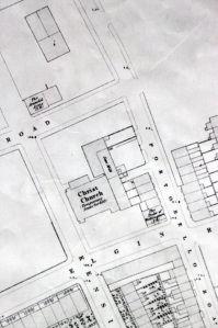 Portobello Road, OS map 1862.