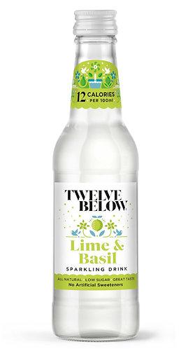 Lime & Basil Sparkling Drink
