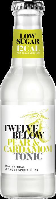 Bottle of TwelveBelow Pear & Cardamom Tonic