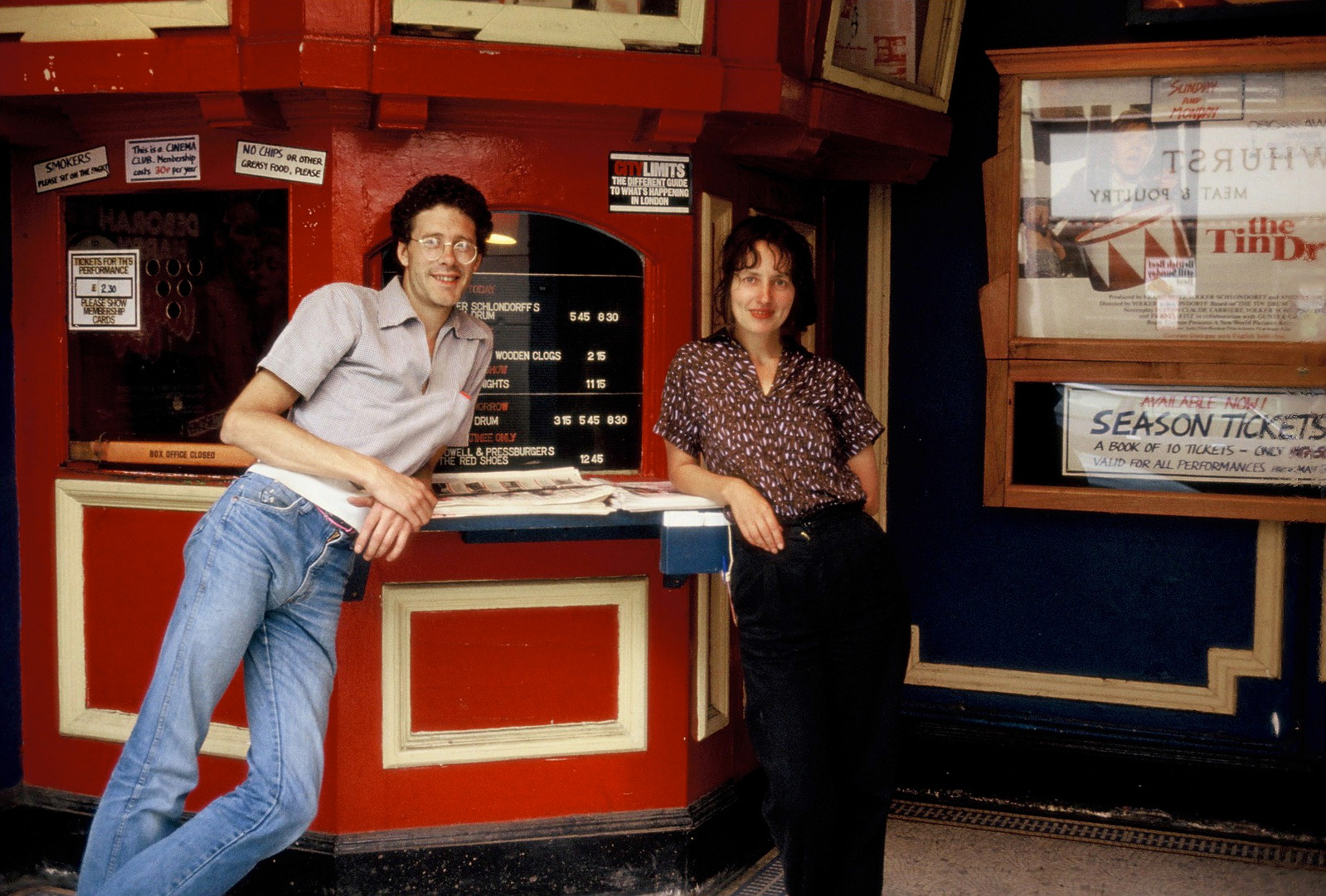 Rob Small and Sue Bailey