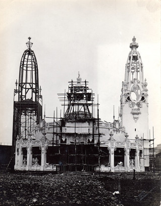Palace Of Women's Work - under construction.