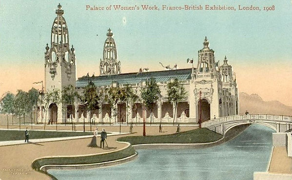 Palace Of Women's Work - completed.