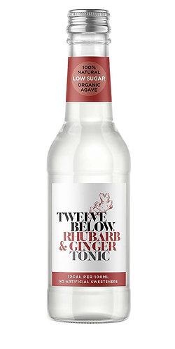 TwelveBelow Rhubarb & Ginger Tonic 12 x 500ml