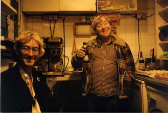 Terry Abernethy and Blonde Johnny