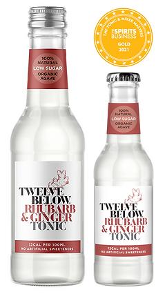 Twelve Rhubarb and Ginger tonic