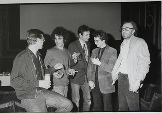 Jim Nelson, Stan Siegal, Dave Hucker, David Thompson and Peter Howden.