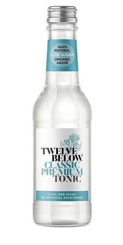 TwelveBelow Classic Premium Tonic 12 x 500ml