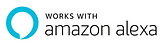 Works with Amazon Alexa.