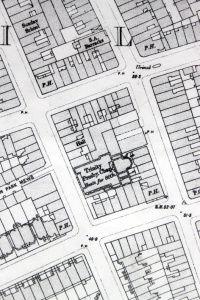 Portobello Road, OS map 1896.