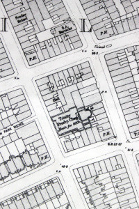 Portobello Road, OS map 1896.