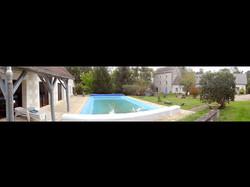 Domaine et piscine