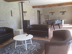 Salon privé Chambre d'hôte Reugny