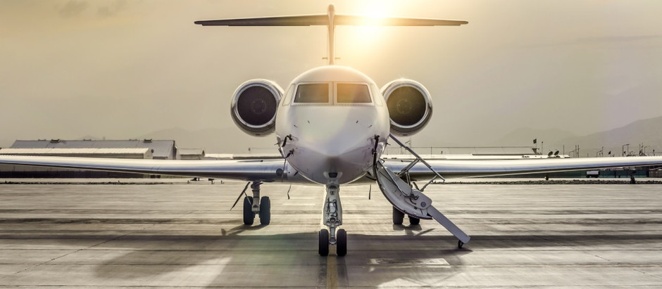 Private jet travel has taken over the skies as the new Covid-19-free vacation