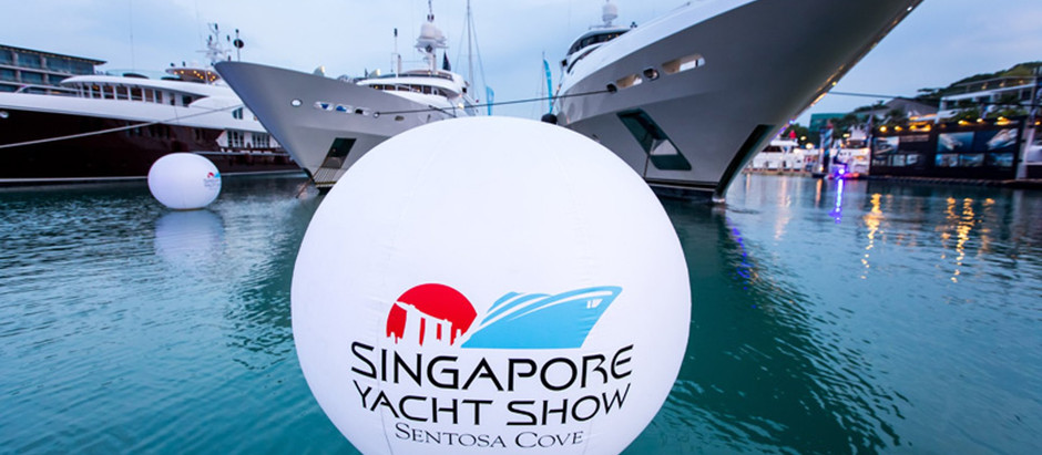 SINGAPORE YACHT SHOW 2020 – NEW DATES AND NEW FORMAT